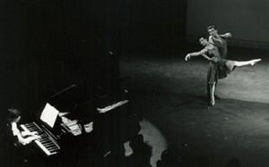Begeleiden van een balletvoorstelling van de Rotterdamse Dansacademie